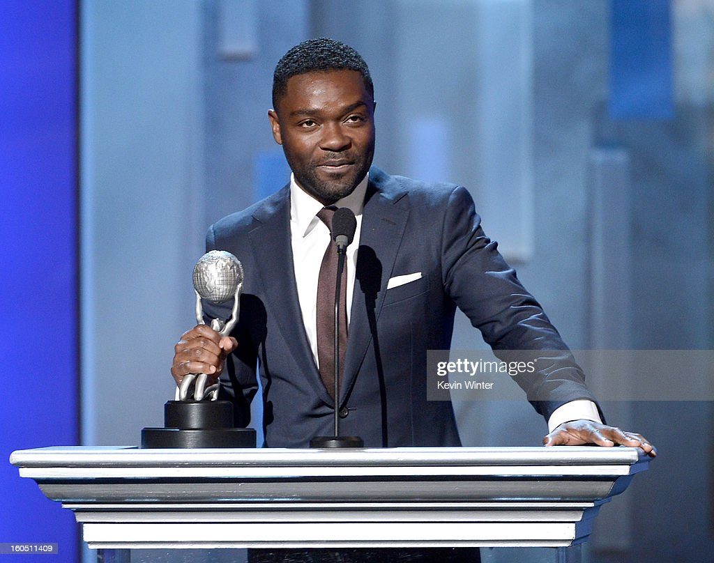 Actor <a gi-track='captionPersonalityLinkClicked' href=/galleries/search?phrase=David+Oyelowo&family=editorial&specificpeople=633075 ng-click='$event.stopPropagation()'>David Oyelowo</a> onstage during the 44th NAACP Image Awards at The Shrine Auditorium on February 1, 2013 in Los Angeles, California.