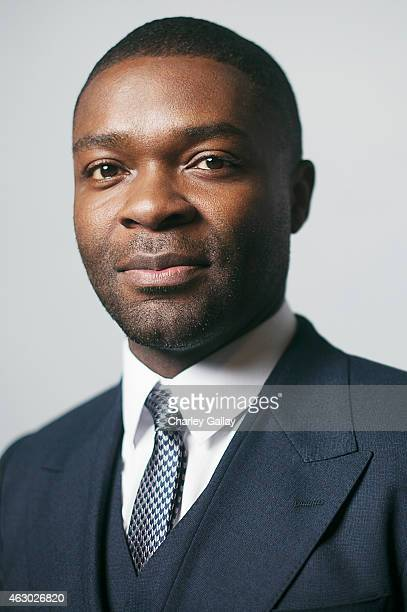 Actor David Oyelowo poses for a portrait at the 46th NAACP Image Awards Presented By TV On on February 6 2015 in Pasadena California