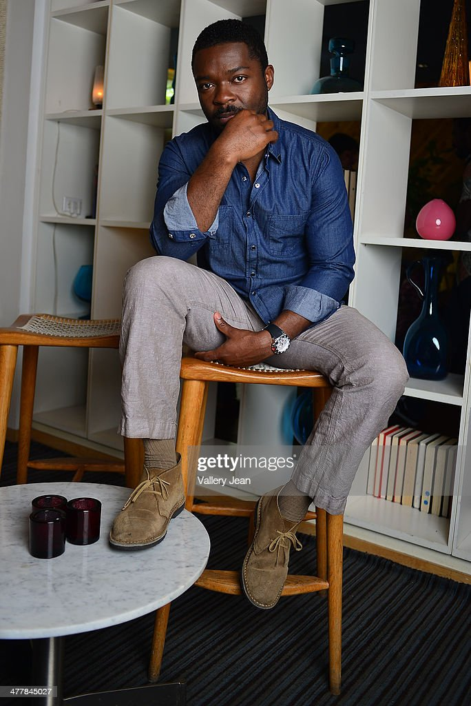 Actor <a gi-track='captionPersonalityLinkClicked' href=/galleries/search?phrase=David+Oyelowo&family=editorial&specificpeople=633075 ng-click='$event.stopPropagation()'>David Oyelowo</a> poses for a portrait session promoting his new film 'Default' during the Miami International Film Festival 2014 at The Standard on March 10, 2014 in Miami Beach, Florida.