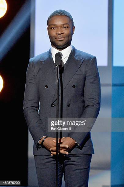 Actor David Oyelowo speaks onstage at the 46th Annual NAACP Image Awards on February 6 2015 in Pasadena California