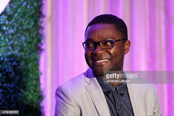 Actor David Oyelowo speaks onstage during The 2015 PURPOSE The Family Entertainment FaithBased Summit presented by Variety on June 25 2015 in Los...