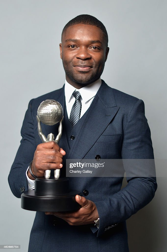 Actor <a gi-track='captionPersonalityLinkClicked' href=/galleries/search?phrase=David+Oyelowo&family=editorial&specificpeople=633075 ng-click='$event.stopPropagation()'>David Oyelowo</a>, winner of Outstanding Actor in a Motion Picture for 'Selma,' poses in the portrait studio during the 46th NAACP Image Awards presented by TV One at Pasadena Civic Auditorium on February 6, 2015 in Pasadena, California.