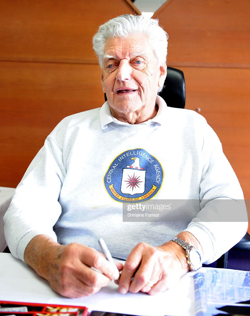 Actor David Prowse attends Star Wars Fan Fun Day at Burnley Football Club on May 4, 2015 in Burnley, England.