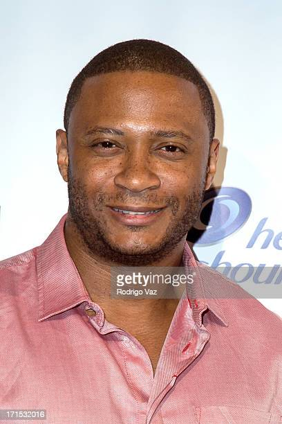 Actor David Ramsey arrives at Logo's 'Hot 100' Party at Drai's Lounge in W Hollywood on June 25 2013 in Hollywood California