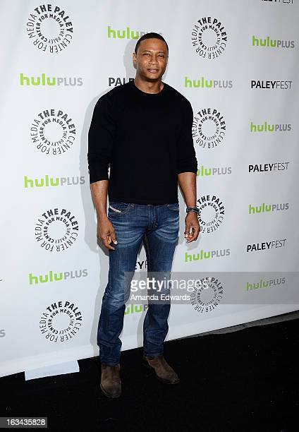Actor David Ramsey arrives at the 30th Annual PaleyFest The William S Paley Television Festival featuring 'Arrow' at the Saban Theatre on March 9...