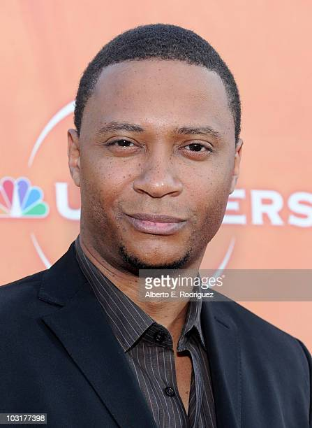 Actor David Ramsey arrives to NBC Universal's 2010 TCA Summer Party on July 30 2010 in Beverly Hills California