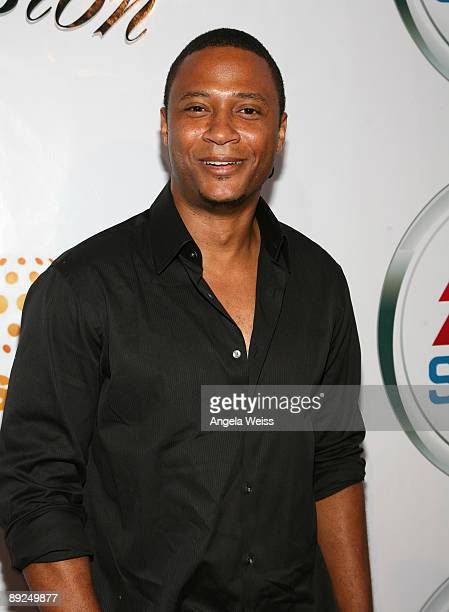 Actor David Ramsey arrives to the EA Sports 'Rock The Mansion' Fall soundtrack party held at the Playboy Mansion on July 24 2009 in Los Angeles...