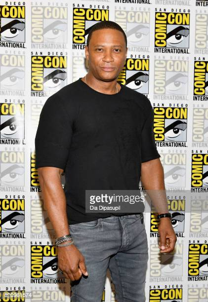 Actor David Ramsey at the 'Arrow' Press Line during ComicCon International 2017 at Hilton Bayfront on July 22 2017 in San Diego California