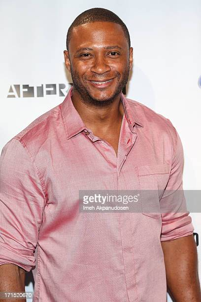 Actor David Ramsey attends Logo's 'Hot 100' Party at Drai's Lounge in W Hollywood on June 25 2013 in Hollywood California