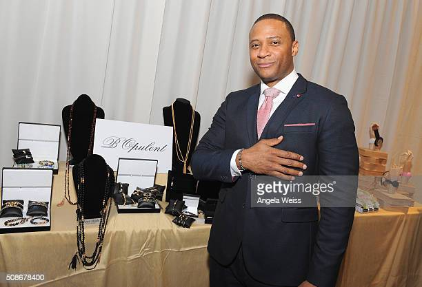 Actor David Ramsey attends the Backstage Creations Celebrity Retreat at The 47th NAACP Image Awards at Pasadena Civic Auditorium on February 5 2016...