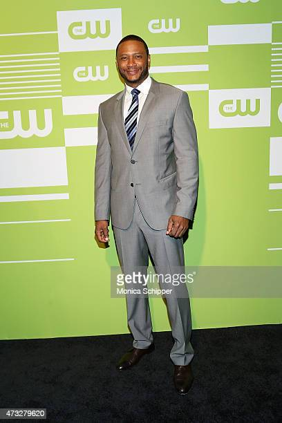 Actor David Ramsey attends The CW Network's New York 2015 Upfront Presentation at The London Hotel on May 14 2015 in New York City