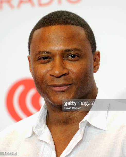 Actor David Ramsey attends the iHeartRadio Music Festival at the MGM Grand Garden Arena on September 20 2013 in Las Vegas Nevada