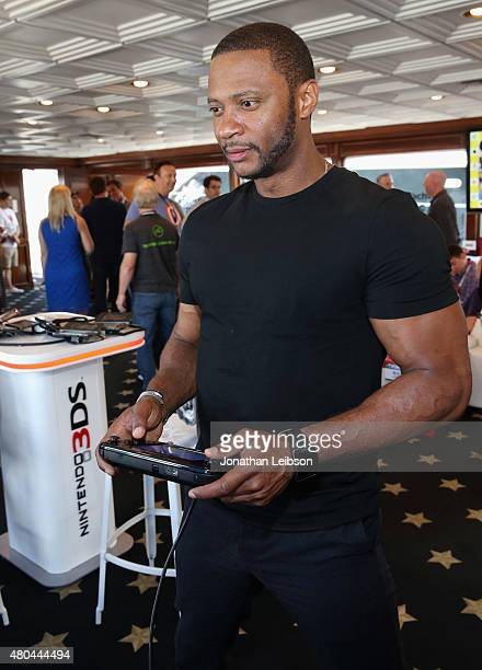 Actor David Ramsey attends The Nintendo Lounge on the TV Guide Magazine yacht during ComicCon International 2015 on July 11 2015 in San Diego...