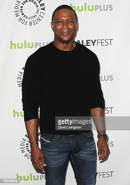 Actor David Ramsey attends The Paley Center For Media's PaleyFest 2013 honoring 'Arrow' at the Saban Theatre on March 9 2013 in Beverly Hills...