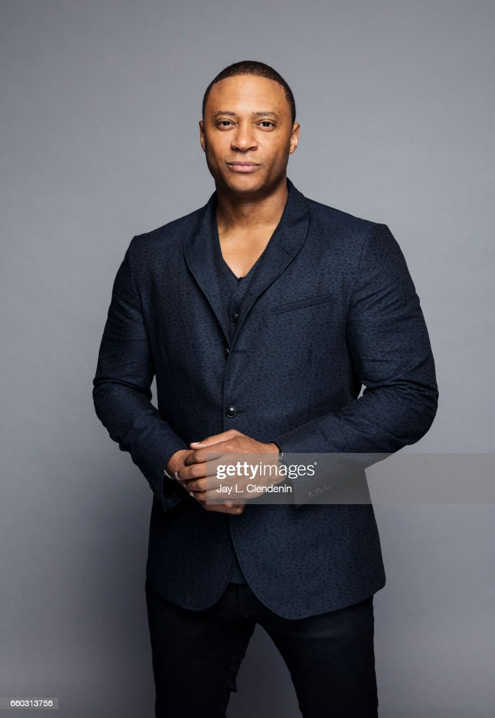 Actor David Ramsey from CW's 'Arrow' is photographed for Los Angeles Times on March 18, 2017 in Los Angeles, California. PUBLISHED IMAGE.