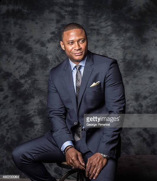 Actor David Ramsey of Arrow poses for a portrait during CTV 2014 Upfront at Sony Centre for the Performing Arts on June 5 2014 in Toronto Canada