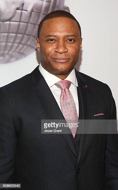 Actor David Ramsey onstage during the 47th NAACP Image Awards presented by TV One at Pasadena Civic Auditorium on February 5 2016 in Pasadena...