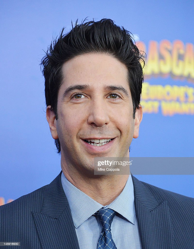 Actor <a gi-track='captionPersonalityLinkClicked' href=/galleries/search?phrase=David+Schwimmer&family=editorial&specificpeople=206148 ng-click='$event.stopPropagation()'>David Schwimmer</a> attend the 'Madagascar 3: Europe's Most Wanted' New York Premier at Ziegfeld Theatre on June 7, 2012 in New York City.