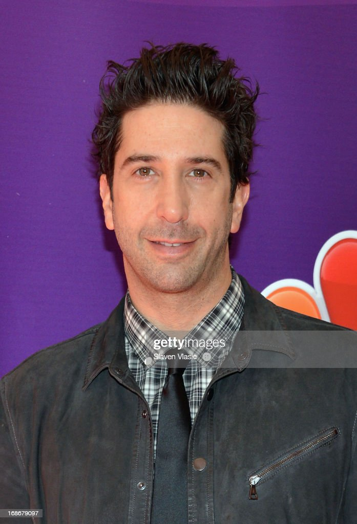 Actor David Schwimmer attends 2013 NBC Upfront Presentation Red Carpet Event at Radio City Music Hall on May 13, 2013 in New York City.