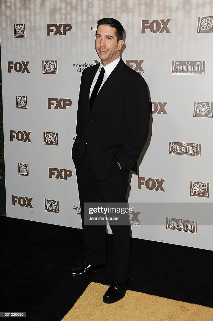Actor David Schwimmer attends FOX and FX's 2017 Golden Globe Awards after party at The Beverly Hilton Hotel on January 8, 2017 in Beverly Hills, California.