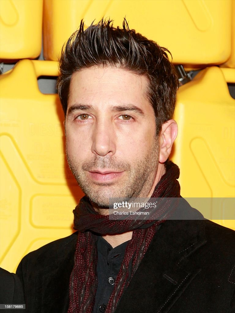Actor David Schwimmer attends the 7th annual Charity Ball Benefiting Charity:Water at the 69th Regiment Armory on December 10, 2012 in New York City.