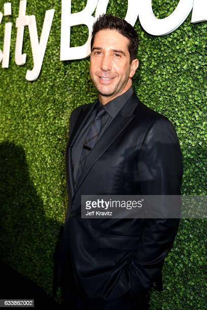 Actor David Schwimmer attends the Giving Back Fund's 8th Annual Big Game Big Give Charity Event at Holthouse Estate on February 4 2017 in Houston...