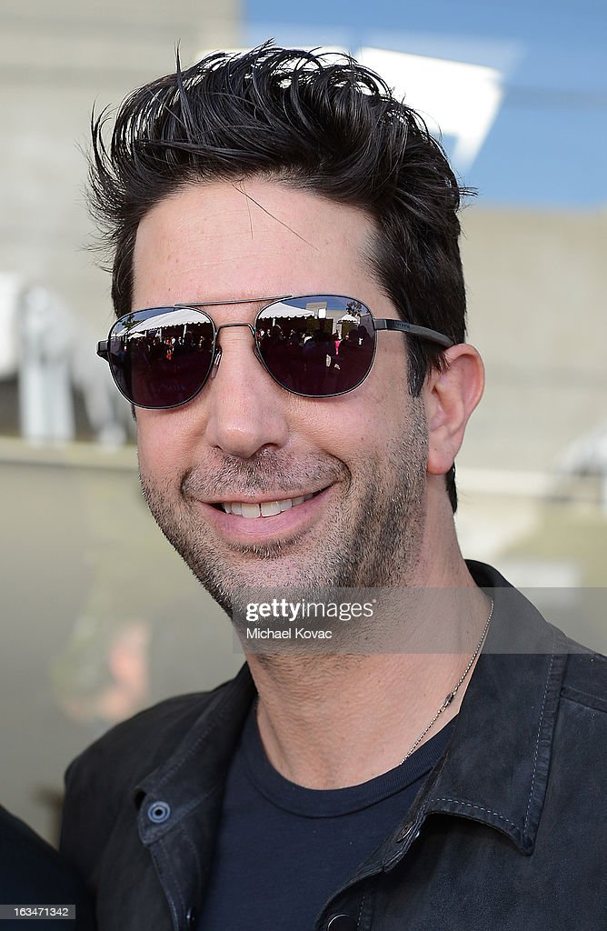 Actor <a gi-track='captionPersonalityLinkClicked' href=/galleries/search?phrase=David+Schwimmer&family=editorial&specificpeople=206148 ng-click='$event.stopPropagation()'>David Schwimmer</a> attends the John Varvatos 10th Annual Stuart House Benefit presented by Chrysler, Kids Tent by Hasbro Studios, at John Varvatos Los Angeles on March 10, 2013 in Los Angeles, California.