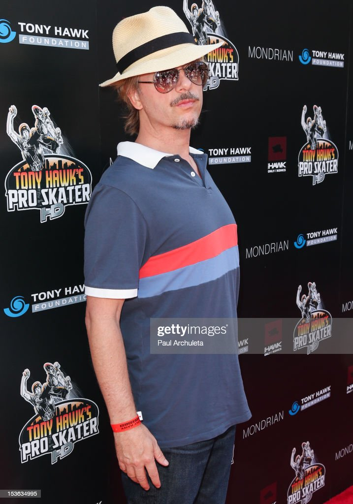 Actor David Spade attends the 9th annual Stand Up For Skateparks benefit at Ron Burkle's Green Acres Estate on October 7, 2012 in Beverly Hills, California.