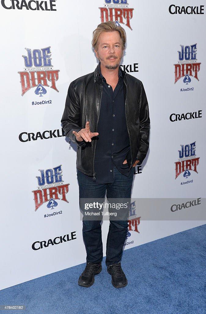 "Premiere Of Crackle's ""Joe Dirt 2: Beautiful Loser"" - Arrivals"