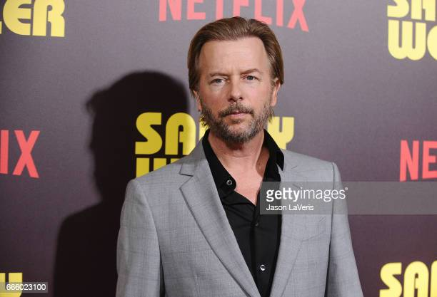 Actor David Spade attends the premiere of 'Sandy Wexler' at ArcLight Cinemas Cinerama Dome on April 6 2017 in Hollywood California