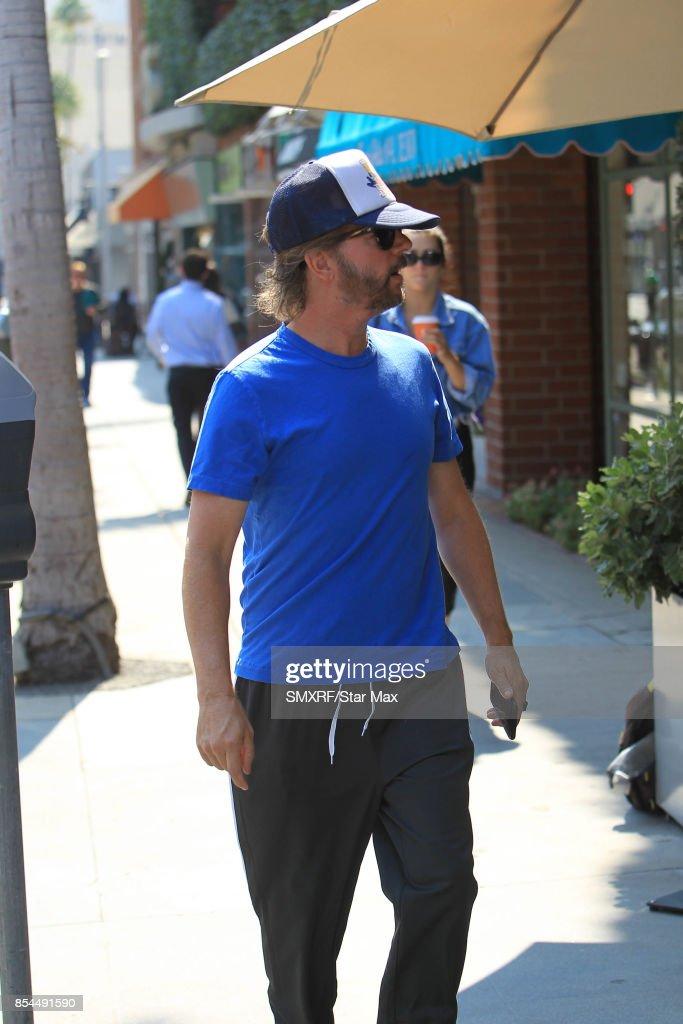 Actor David Spade is seen on September 26, 2017 in Los Angeles, California