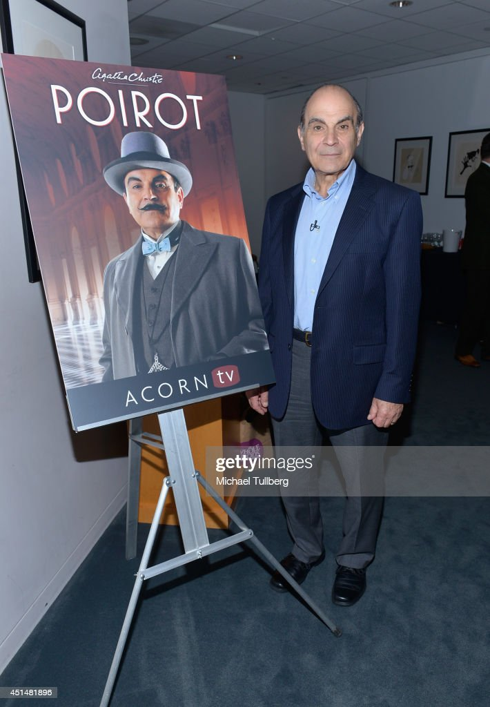 "Premiere Of Acorn TV's ""Agatha Christie's Poirot, Curtain: Poirot's Last Case"" Series Finale"