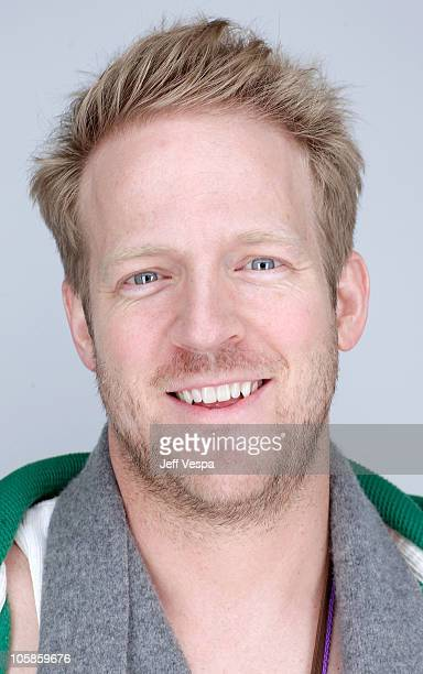 Actor David Sullivan poses for a portrait during the 2010 Sundance Film Festival held at the WireImage Portrait Studio at The Lift on January 25 2010...