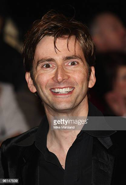 Actor David Tenant attends the 15th National Television Awards held at the O2 Arena on January 20 2010 in London England