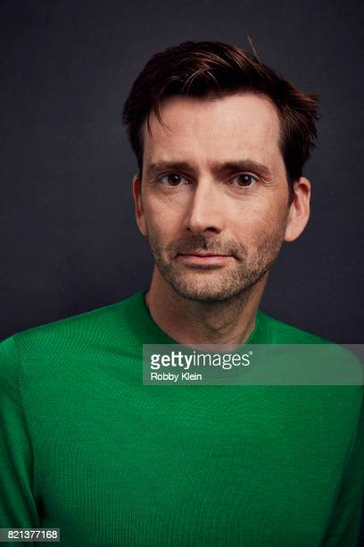 Actor David Tennant from Disney's 'DuckTales' poses for a portrait during ComicCon 2017 at Hard Rock Hotel San Diego on July 21 2017 in San Diego...