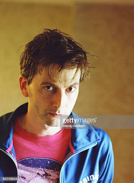 Actor David Tennant known for role as tenth Dr Who poses for a portrait session on August 1 2009 in San Diego California
