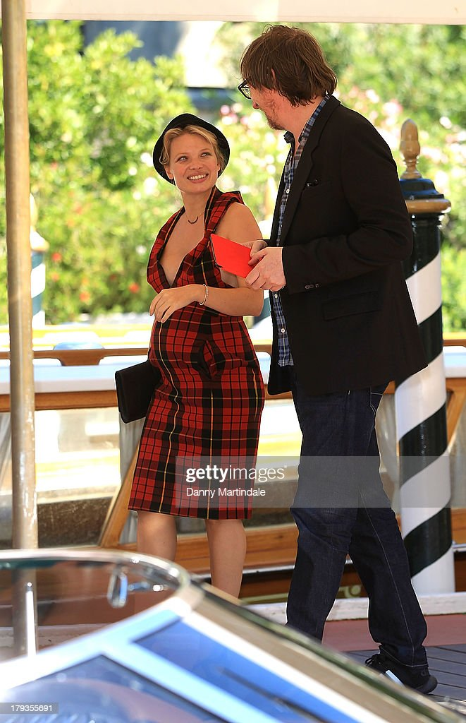 Actor David Thewlis and actress Melanie Thierry are seen talking during day 6 of the 70th Venice International Film Festival on September 2, 2013 in Venice, Italy.