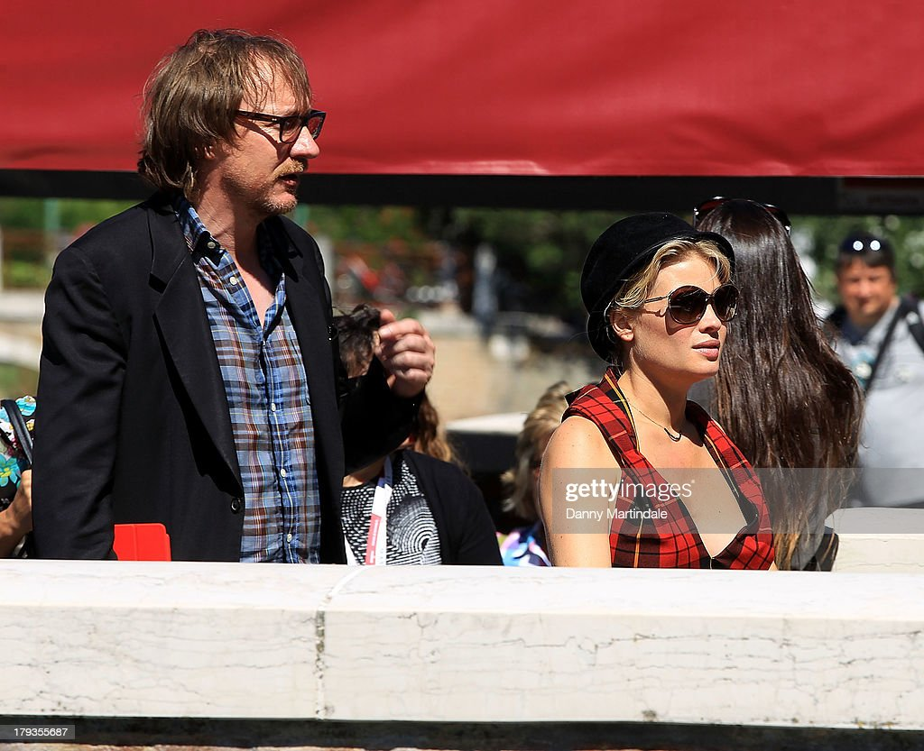 Actor David Thewlis and actress Melanie Thierry attend day 6 of the 70th Venice International Film Festival on September 2, 2013 in Venice, Italy.