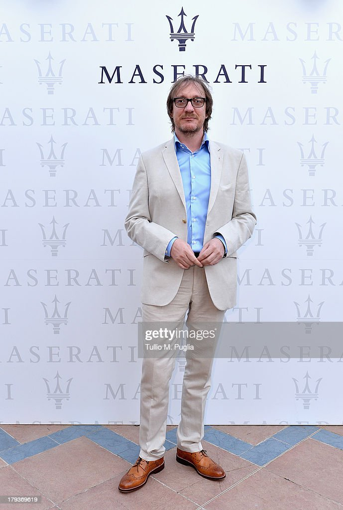 Actor <a gi-track='captionPersonalityLinkClicked' href=/galleries/search?phrase=David+Thewlis&family=editorial&specificpeople=213624 ng-click='$event.stopPropagation()'>David Thewlis</a> attends the 70th Venice International Film Festival at Terrazza Maserati on September 2, 2013 in Venice, Italy.
