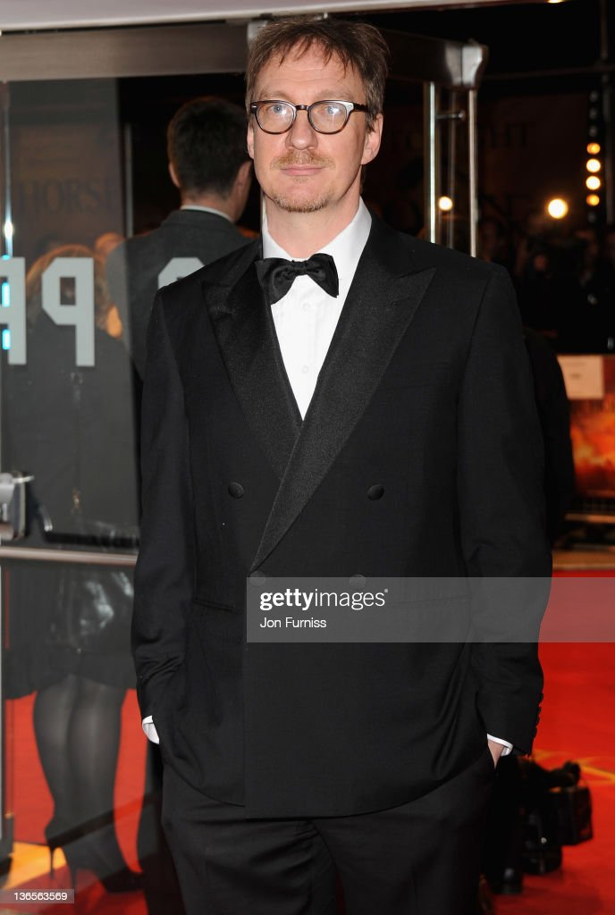 Actor David Thewlis attends the 'War Horse' UK film premiere at the Odeon Leicester Square on January 8 2012 in London England