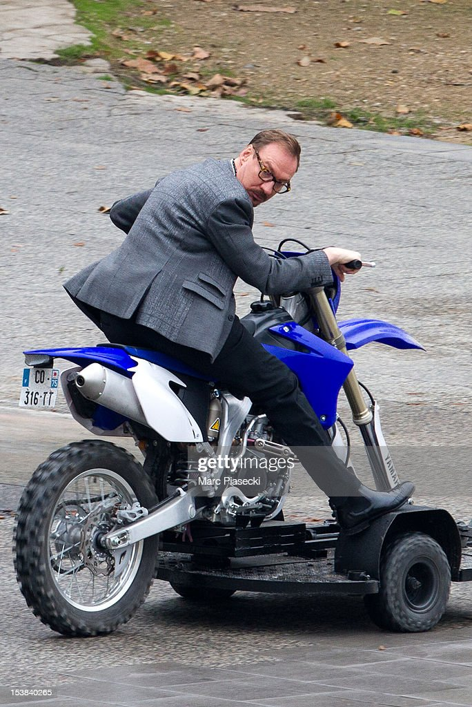 Actor David Thewlis is seen on the set of 'Red 2' on October 9 2012 in Paris France