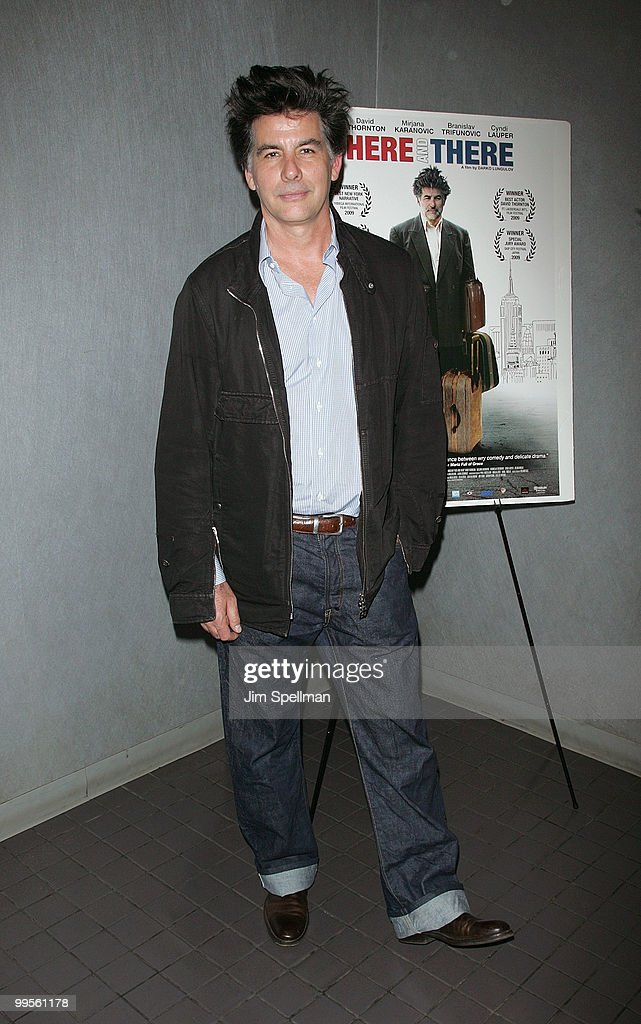 Actor David Thornton attends the premiere of 'Here & There' at Quad Cinema on May 14, 2010 in New York City.