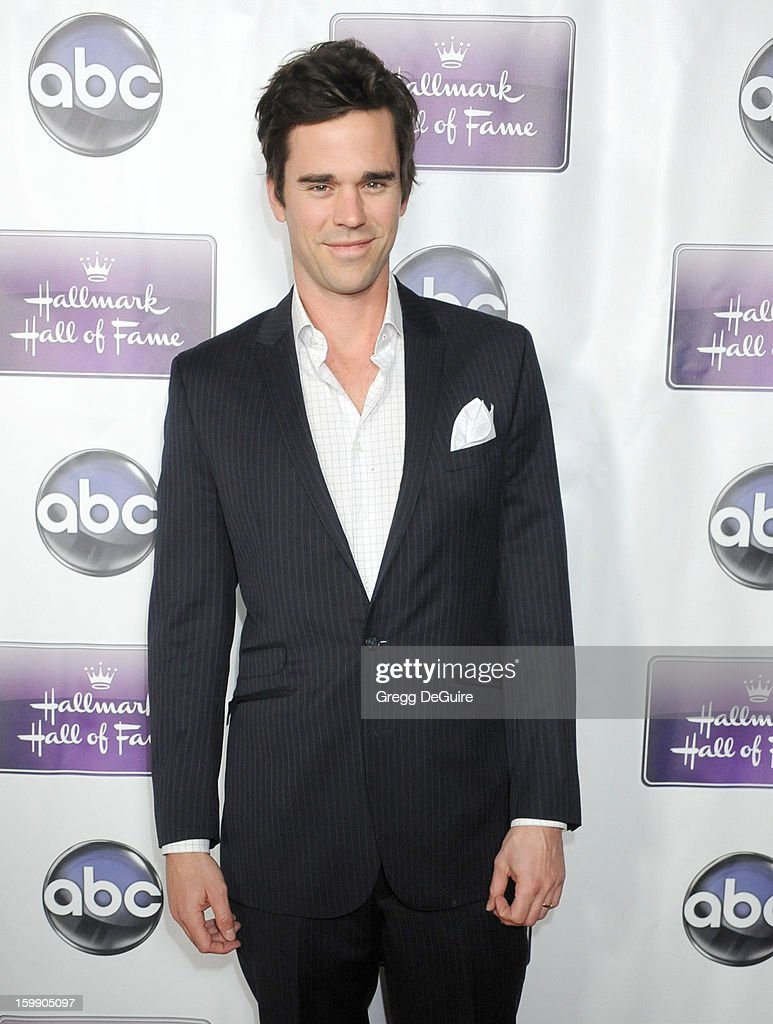 Actor David Walton arrives at the Los Angeles premiere of 'The Makeover' at Fox Studio Lot on January 22, 2013 in Century City, California.