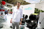 Actor David Walton attends Favordby's 3rd annual Red CARpet Safety Awareness Event presented by Evenflo at Skirball Cultural Center on September 28...