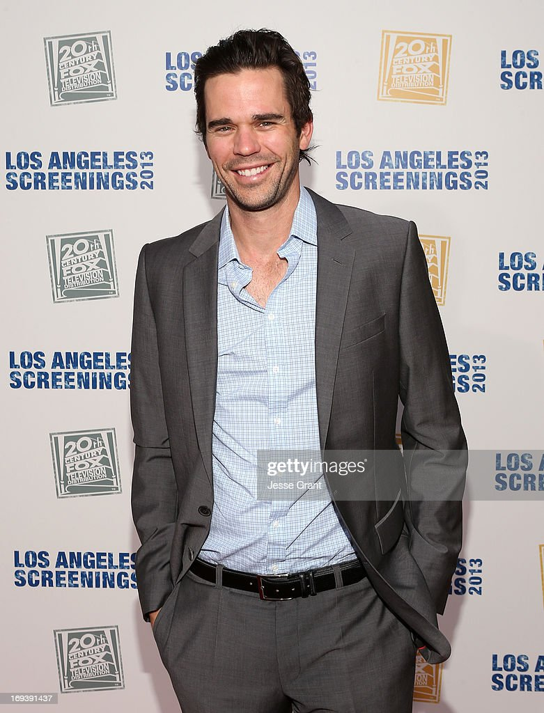 Actor David Walton attends Twentieth Century Fox Television Distribution's 2013 LA Screenings Lot Party at Twentieth Century Fox Studio Lot on May 23, 2013 in Los Angeles, California.