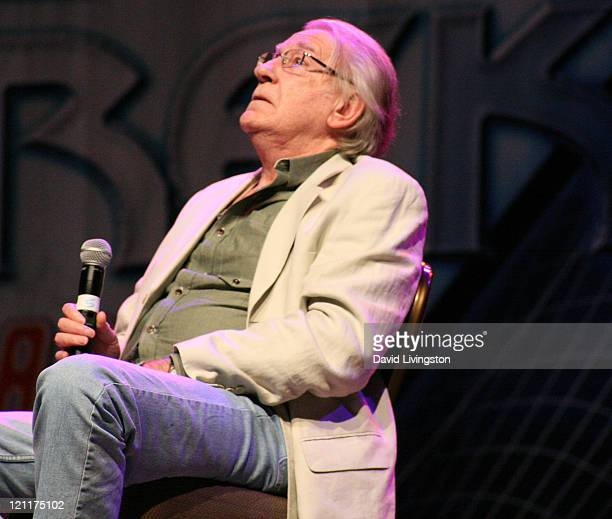 Actor David Warner attends Day 4 of the Official Star Trek Convention at the Rio Las Vegas Hotel Casino on August 14 2011 in Las Vegas Nevada