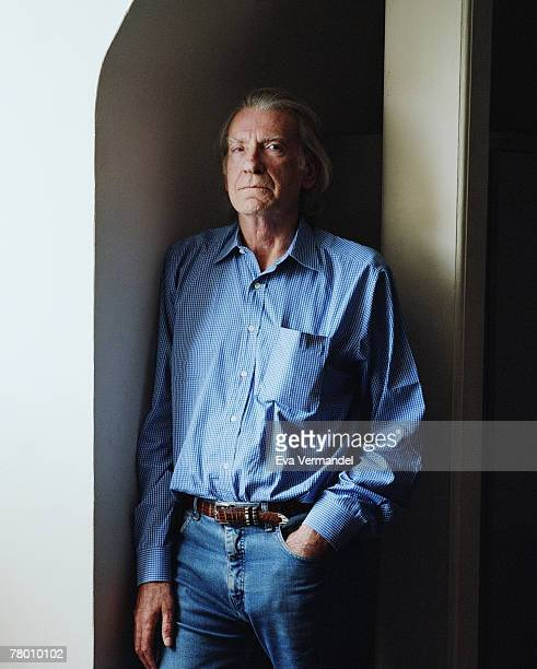 Actor David Warner poses for a portrait shoot for the Telegraph newspaper in London on June 30 2007