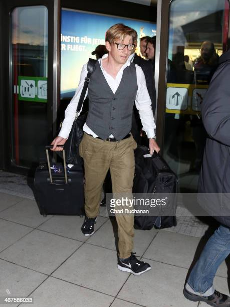Actor David Wenham sighting at Tegel Airport on February 7 2014 in Berlin Germany
