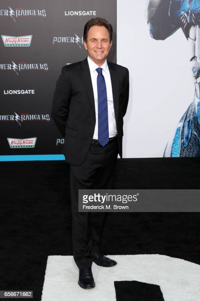Actor David Yost at the premiere of Lionsgate's 'Power Rangers' on March 22 2017 in Westwood California