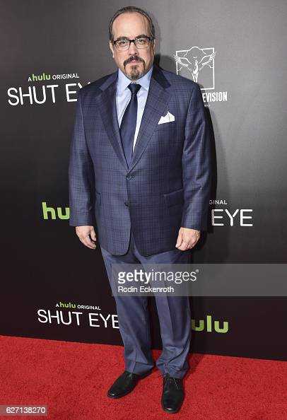 Actor David Zayas attends the premiere of Hulu's 'Shut Eye' at ArcLight Hollywood on December 1 2016 in Hollywood California